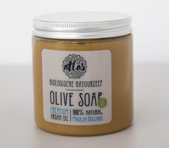arganolie olijvenzeep