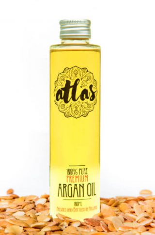 Cosmetische argan olie